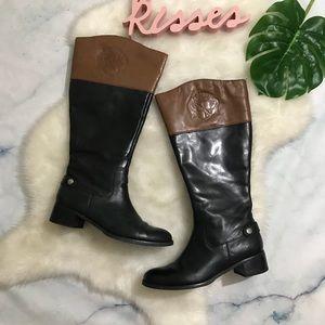Franco Sarto Chip Wide Calf Riding Boots